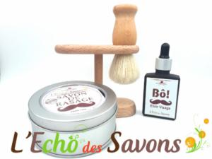 Kit de rasage au naturel